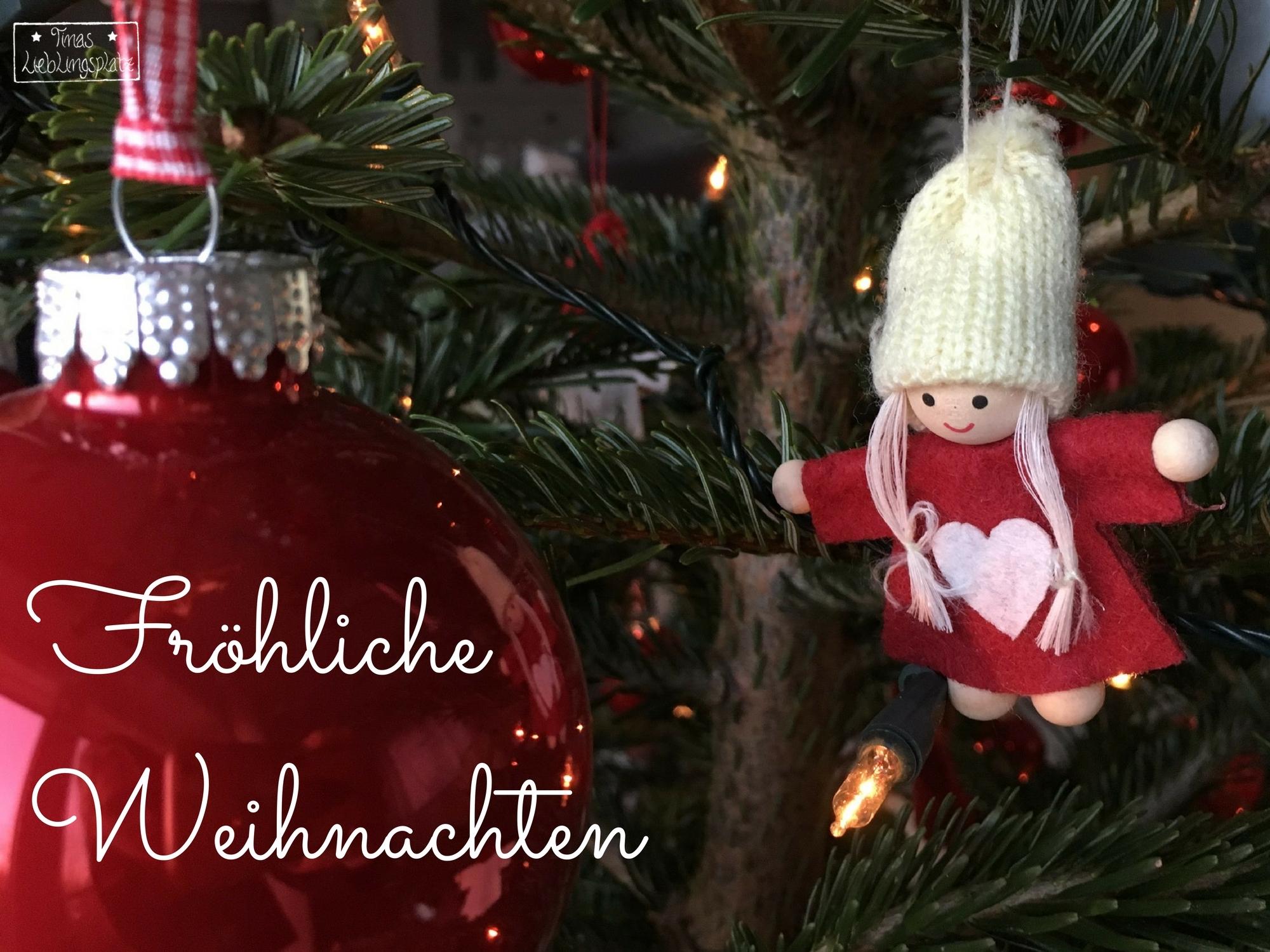 Frohe Weihnachten und bis nächstes Jahr! - Tinas Lieblingsplatz