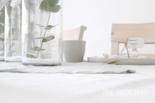 Advents Tischdekoration Schlicht Und Elegant Tinas Lieblingsplatz